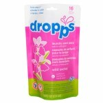 Dropps Laundry Scent Pacs, 16ct, Wild Orchid- 16 ea