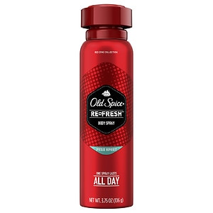 Old Spice Red Zone Refresh Men's Body Spray, Pure Sport, 3.7