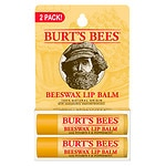 Burt's Bees Lip Balm, Peppermint, 2 pk- .15 oz