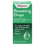 Walgreens Eye Rewetting Drops- .5 oz