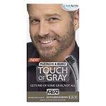 Just For Men Touch of Gray Mustache & Beard Haircolor, Light &