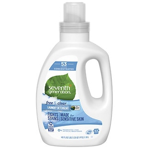 Seventh Generation Liquid Laundry 4X, Free & Clear