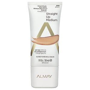 Almay Smart Shade Anti-Aging Skintone Matching Makeup, SPF 20, Medium