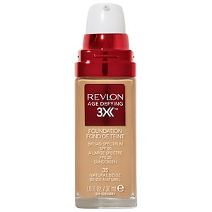 Revlon Age Defying Firming & Lifting Makeup, SPF 15, Natural Beige