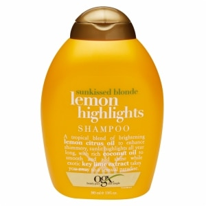 OGX Sunkissed Blonde Lemon Highlights Shampoo- 13 fl oz