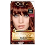 L'Oreal Paris Preference Fade-Defying Color + Shine System, 6AB Chic Auburn Brown- 1 ea