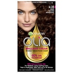 Garnier Olia Haircolor, Dark Golden Mahogany- 1 ea