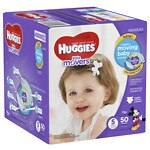Huggies Little Movers Diapers, Big Pack, Size 5- 50 ea