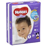 Huggies Little Movers Diapers, Jumbo Pack, Size 3- 28 ea