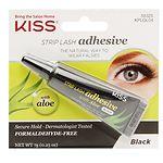 Kiss Strip Lash Adhesive with Aloe, Black- .25 oz