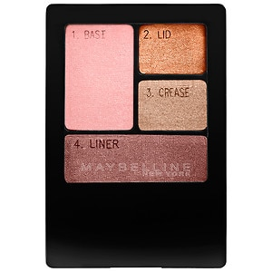 Maybelline Expert Wear Eyeshadow Quad, Autumn Coppers