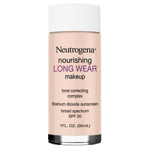 Neutrogena oz  fl 20, Longwear Natural all Nourishing 1 makeup SPF   Makeup, natural Ivory drugstore