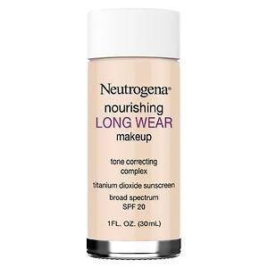 Neutrogena Nourishing Longwear Makeup, SPF 20, Classic Ivory, 1 fl oz