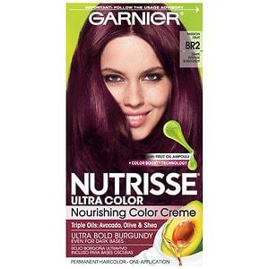 Garnier Nutrisse Permanent Haircolor, Burgundy, BR2