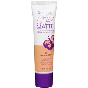 Rimmel Stay Matte Liquid Mousse Foundation, Classic Beige