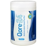 Qore 24 Antimicrobial Hand Purifier Wipes- 220 ea