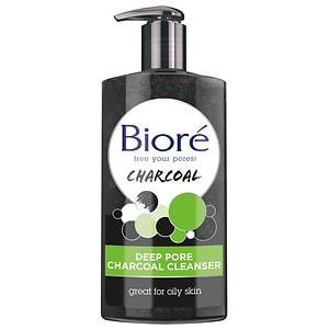 Biore Deep Pore Charcoal Cleanser, 6.77 fl oz