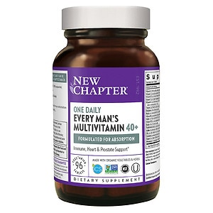 New Chapter Every Man's One Daily 40+ Multivitamin, Tablets, 96 ea