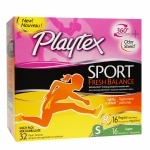 Playtex Sport Fresh Balance Tampons, Multipack, Regular & Super- 32 ea