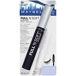 Maybelline Full 'N Soft Mascara, Very Black