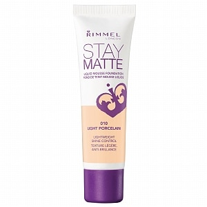 Rimmel Stay Matte Liquid Mousse Foundation, Light Porcelain