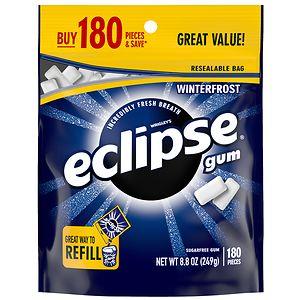 Eclipse Sugar Free Gum, Winterfrost, 180 ea