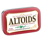 Altoids Mints, Peppermint, 12 pk- 1.76 oz