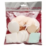 Precision Beauty Assorted Cosmetic Sponges 24 Count- 24 ea
