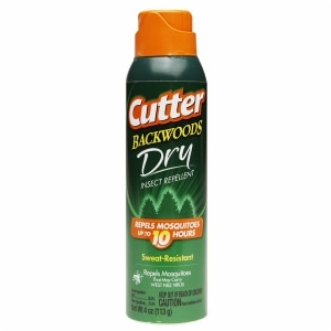 Cutter Backwoods Dry Aerosol 25% DEET- 4 oz
