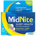Midnite Sleep Aid, Tablets, Cherry- 30 ea