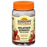 Sundown Naturals Melatonin 5mg Gummies, Strawberry