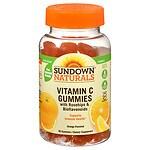 Sundown Naturals Vitamin C Gummies, Orange