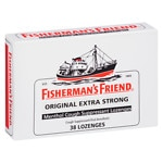 Fisherman's Friend Extra Strong Menthol Cough Suppressant Lozenges, Original- 38 ea
