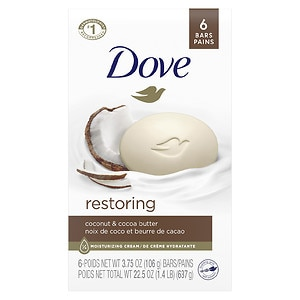 Dove Purely Pampering Beauty Bar, 4 oz, Coconut Milk