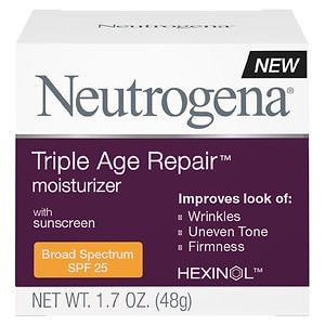 Neutrogena Triple Repair Moisturizer, SPF 25