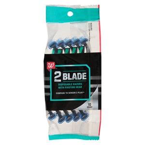 Studio 35 Men's Disposable Twin-Blade Pivot Plus Razors- 10 ea