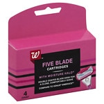 Studio 35 Beauty 5 Blade Cartridges for Women- 4 ea