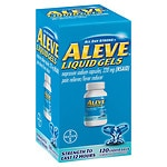Aleve All Day Strong Pain Reliever, Fever Reducer, Liquid Gels- 120 ea