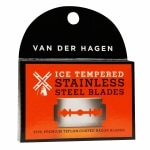Van Der Hagen Double-Edge Razor Blades, Ice Tempered Stainless