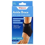 Walgreens Ankle Stabilizer, One Size- 1 ea