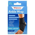 Walgreens Adjustable Ankle Support Wrap, One Size