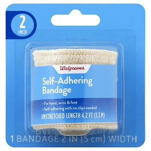 Walgreens Self Adhering Bandage, 2 inch