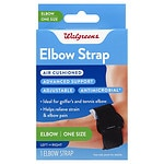 Walgreens Tennis Elbow Support, One Size- 1 ea