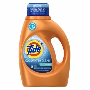 Tide Coldwater Clean High Efficiency Liquid Laundry Detergent 24 Loads, Fresh