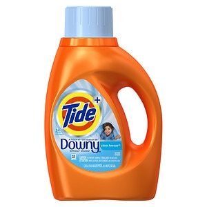 Tide Plus A Touch of Downy Liquid Laundry Detergent 24 Loads, Clean Breeze