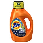 Tide Sport Plus Febreze Freshness Liquid Laundry Detergent, Active Fresh- 46 oz