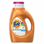 Tide Plus Bleach Alternative Liquid Laundry Detergent 24 Loads, Clean Breeze- 46 fl oz