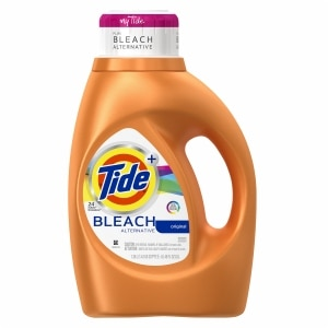 Tide Plus Bleach Alternative Liquid Laundry Detergent 24 Loads, Original- 46 fl oz