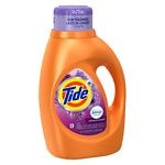 Tide Plus Febreze Freshness Liquid Laundry Detergent 24 Loads, Spring & Renewal- 46 fl oz