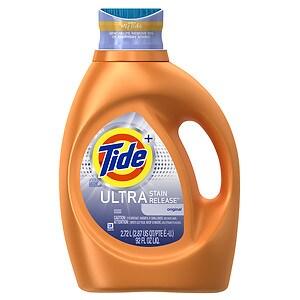 Tide Ultra Stain Release Liquid Laundry Detergent 48 loads, Original